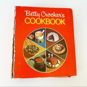 Betty Crocker's Cookbook Vintage Spiral Bound